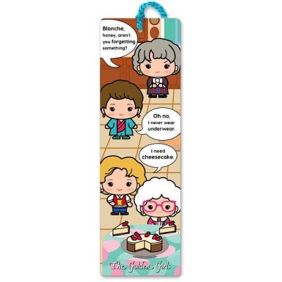 Re-marks, Inc. The Golden Girls 2.25 x 7.25 Inch Paper Bookmark