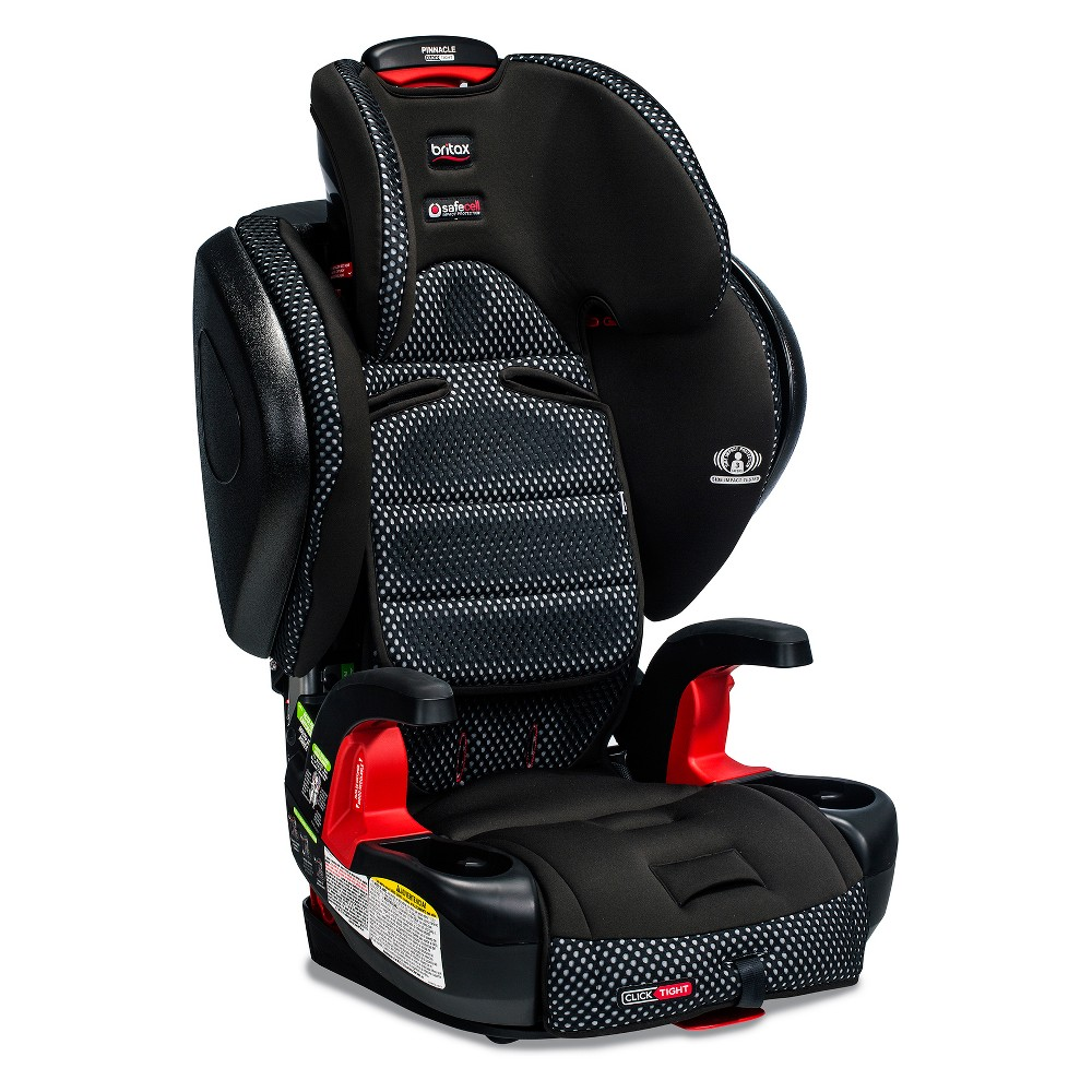 Image of Britax Pinnacle ClickTight Cool Flow Booster Car Seat - Gray