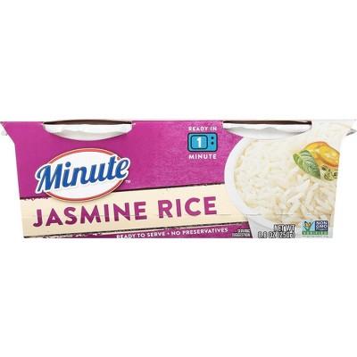 Minute Rice Gluten Free Jasmine Rice - 8.8oz/2ct