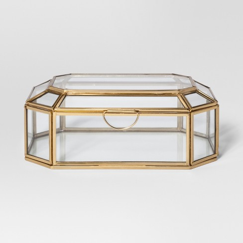 Glass and Gold Display Box - Project 62™ - image 1 of 3