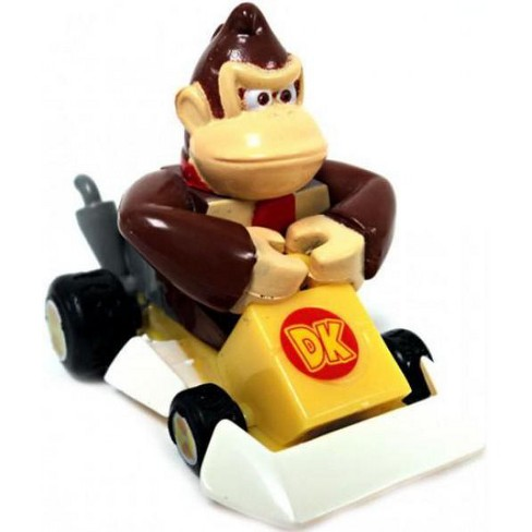 Super Mario Mario Kart Gacha Donkey Kong 1.5-Inch Pull Back Racer [Square Front Bumper] - image 1 of 1