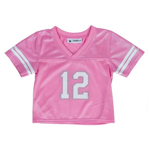 Dallas Cowboys Toddler Girls' Jersey 5T - image 1 of 2