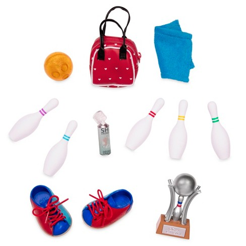"""Our Generation Let It Roll - Retro Bowling Accessory Set for 18"""" Dolls - image 1 of 3"""