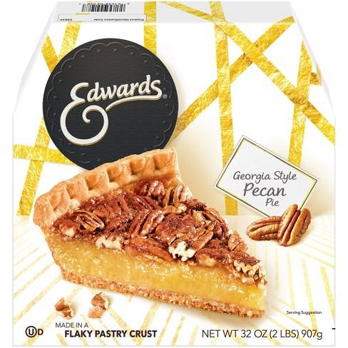 Edwards Georgia Style Frozen Pecan Pie - 32oz - image 1 of 4
