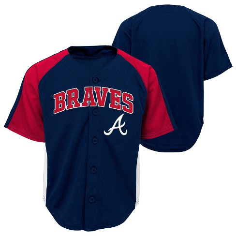 hot sale online 78990 7fcb4 Atlanta Braves Boys' Infant/Toddler Team Jersey - 3T