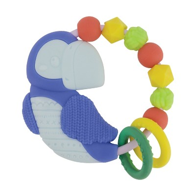 Infantino Go Gaga! Busy Bead Ring Silicone Teether