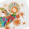 10ct Hallmark Unicef Colorful Angel on White Background - image 3 of 4