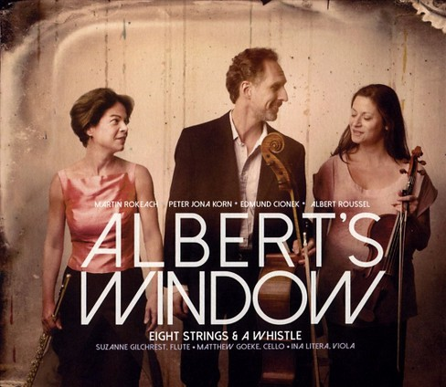 Eight strings & a wh - Albert's window (CD) - image 1 of 1