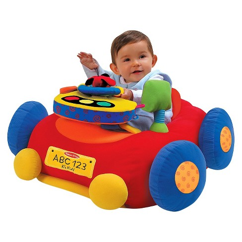 Melissa & Doug® Beep-Beep and Play Activity Center Baby Toy - image 1 of 6