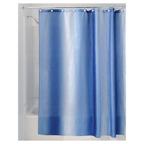 InterDesign Ombre Polyester Shower Curtain