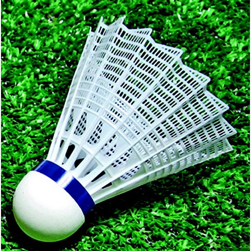 Sportime International Badminton Shuttlecocks, Nylon, Medium Speed, set of 6 - image 1 of 1