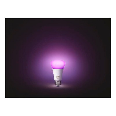Philips Hue White and Color Ambiance A19 LED Smart Bulb Starter Kit
