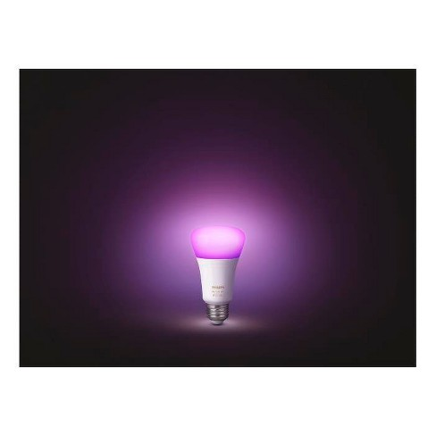 Philips Hue White And Color Ambiance A19 LED Smart Bulb Starter Kit   Target 51d00f99ffe7
