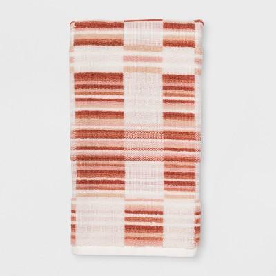 Mesa Linear Quilt Plaid Hand Towel Sour Cream - Project 62™