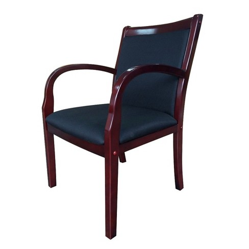 Wood Side Guest Chair Black Boss Target