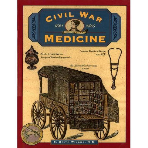 Civil War Medicine - (Illustrated Living History) by  C Keith Wilbur (Paperback) - image 1 of 1