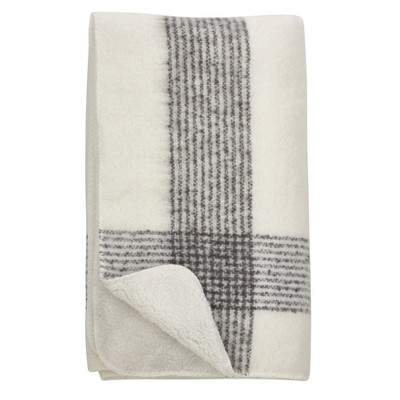 Throw Blankets Saro Lifestyle 50X60  Inches Panna Cream
