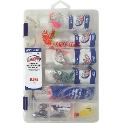 Eagle Claw Fluke Saltwater Tackle Kit