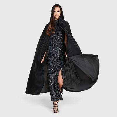 Adult Velvet Black Halloween Cape - Hyde & EEK! Boutique™