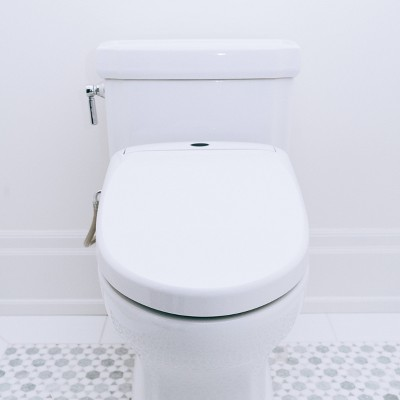 Electric Heated Bidet Smart Toilet Seat White - Genie Bidet