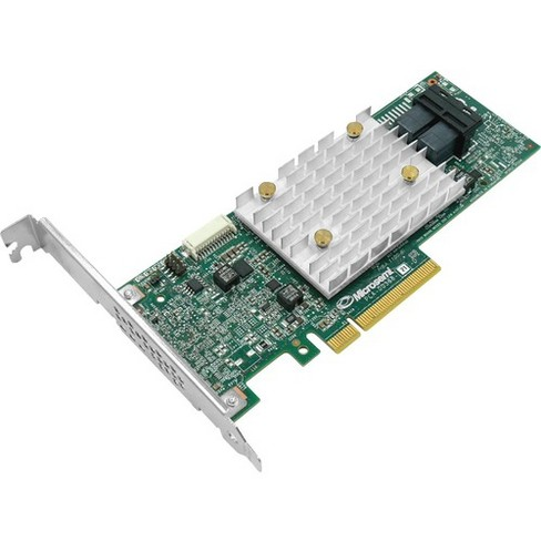 Microsemi Adaptec HBA 1100-8i Adapter - 12Gb/s SAS - PCI Express 3.0 x8 - Plug-in Card - 12 Total SAS Port(s) - 8 SAS Port(s) Internal - image 1 of 1