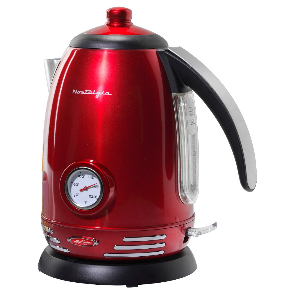 Image of Nostalgia Retro Series 1.7 L. Kettle - Red RWK150