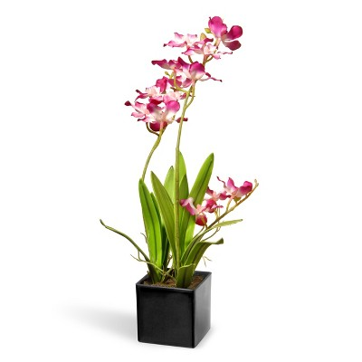 """16"""" Purple Orchid Flowers - National Tree Company"""