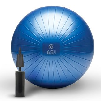 C9 Champion® Exercise Ball with Pump - Blue (65cm)