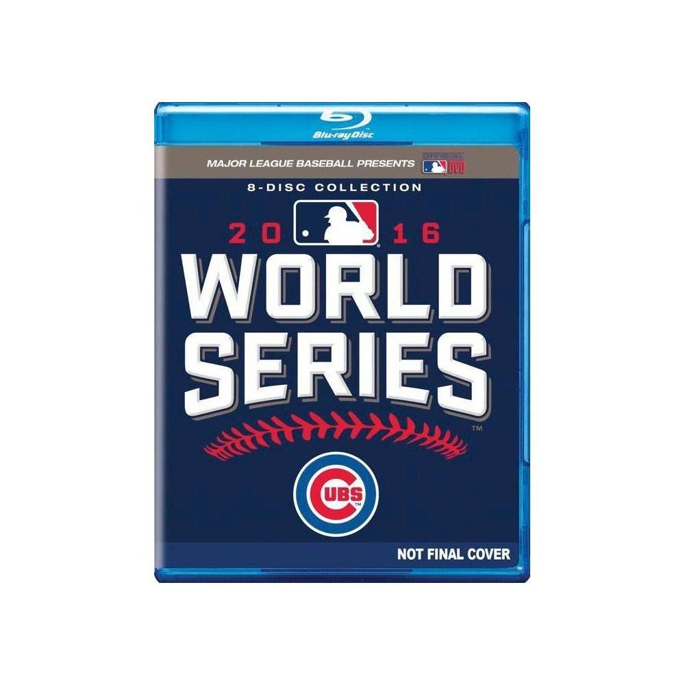 Mlb 2016 World Series Blu Ray 2016