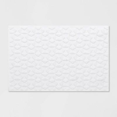 32 x20  Textured Bath Mat White - Opalhouse™
