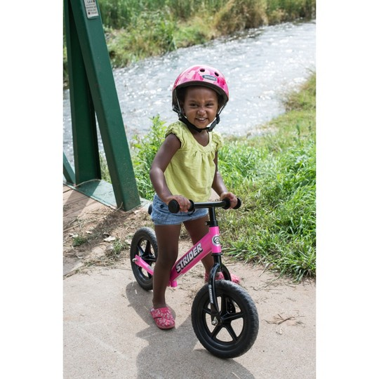 STRIDER 12 Classic Balance Bike For 18 mos. - 3+ years, Kids Unisex, Pink image number null