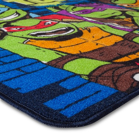 3 4 x 4 6 teenage mutant ninja turtles area rug target