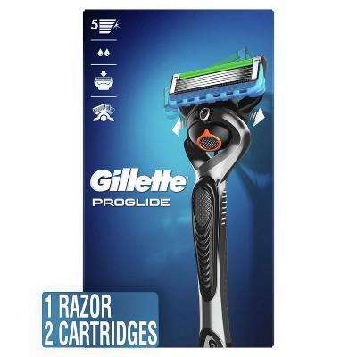Gillette ProGlide Men's Razor + 2 Razor Blade Refills