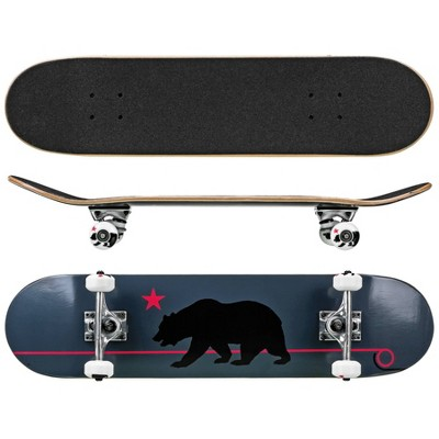 Roller Derby Deluxe Series Cali Bear Skateboard