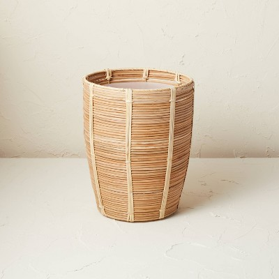 Woven Wastebasket Natural - Opalhouse™ designed with Jungalow™