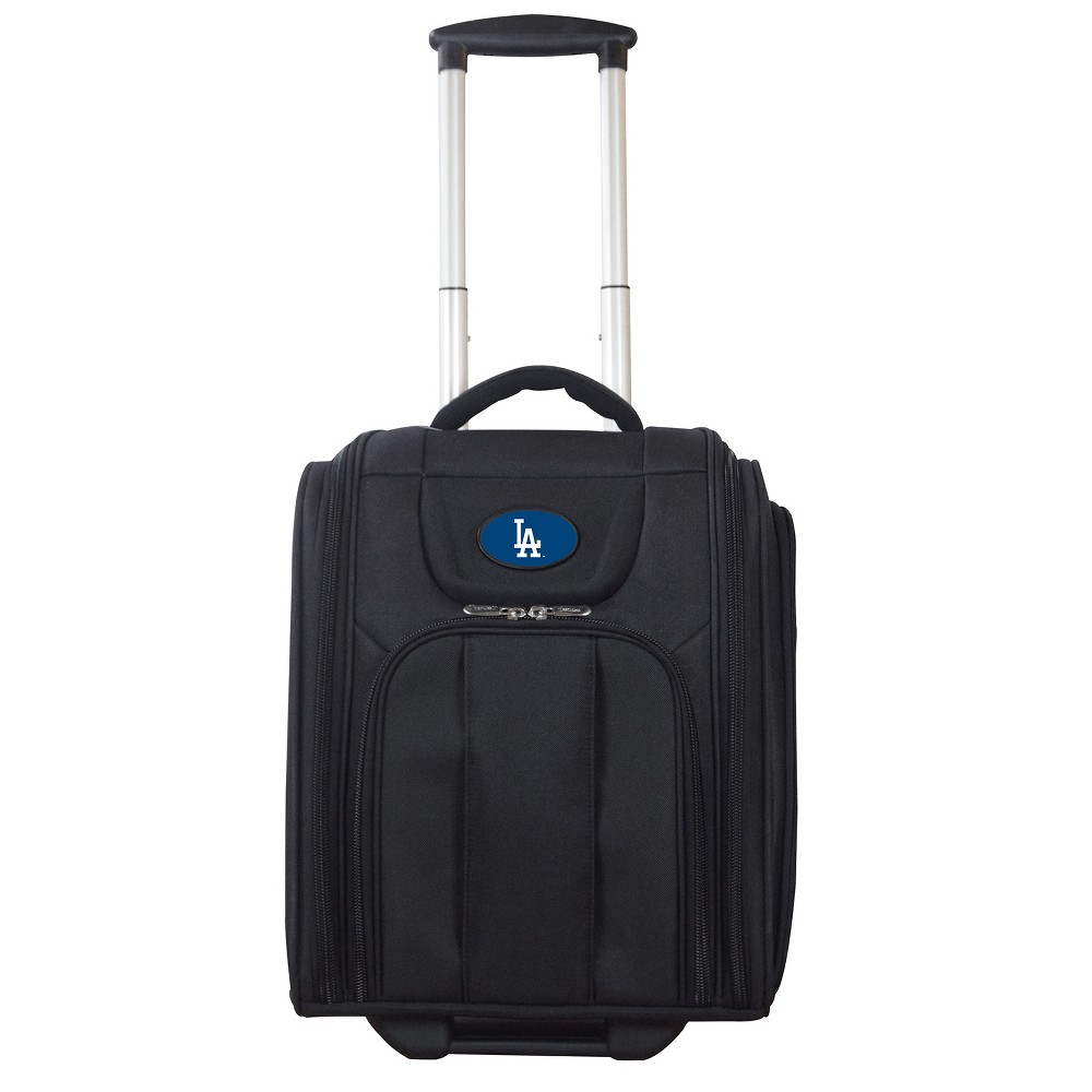 MLB Los Angeles Dodgers Deluxe Wheeled Laptop Briefcase Overnighter, Adult Unisex, Size: Small