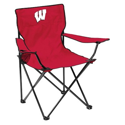 Wisconsin Badgers Quad Folding Camp Chair with Carrying Case