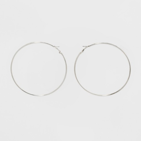 Large Hoop Earrings - Wild Fable™ - image 1 of 5