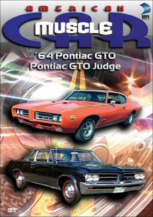 American muscle car:'64 pontiac gto & (DVD) - image 1 of 1