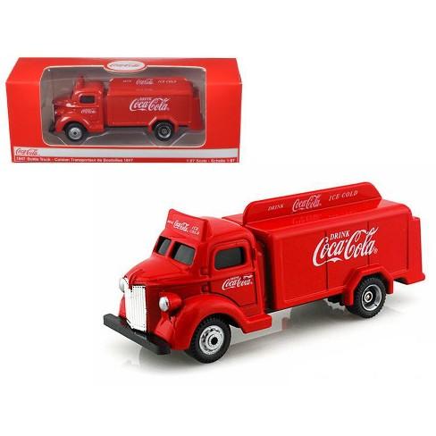 Coca Cola Bottle Truck 1947 1:87 Model MOTORCITY CLASSICS