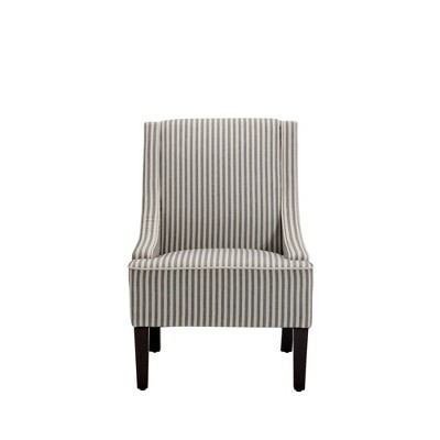 Swoop Arm Accent Chair - WOVENBYRD