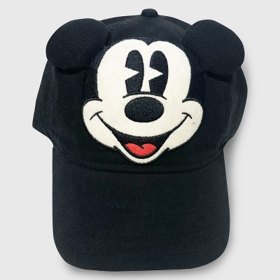 Junk Food Toddlers' Mickey Mouse Baseball Hat - Black