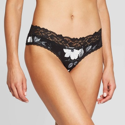 Women's Cotton Cheeky with Lace Waistband - Auden™