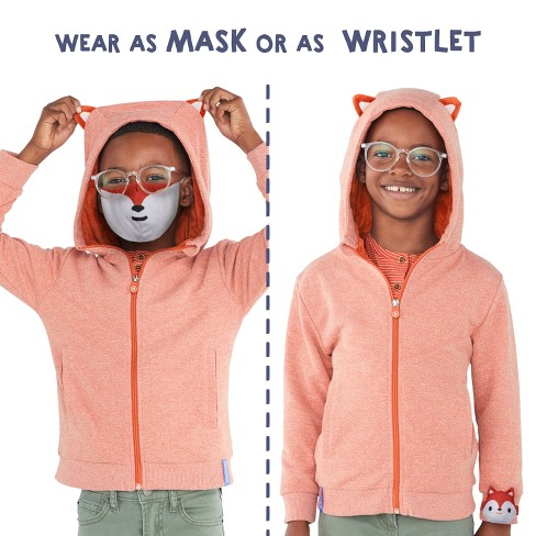 Cubcoats Flynn the Fox Face Mask - image 1 of 2