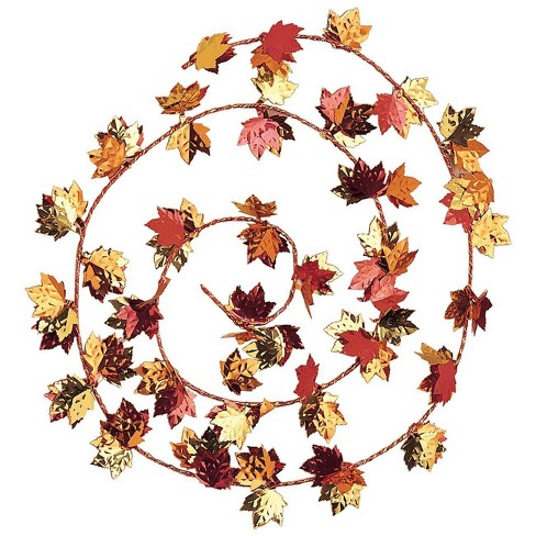 3ct Fall Leaves Wire Garland - image 1 of 1