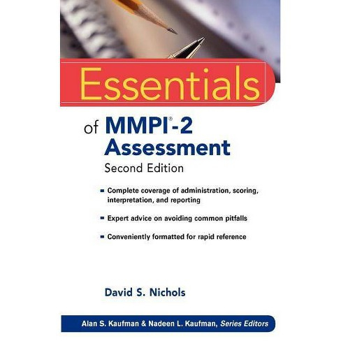 Essentials of Mmpi-2 Assessment - (Essentials of Psychological Assessment) 2 Edition (Paperback) - image 1 of 1
