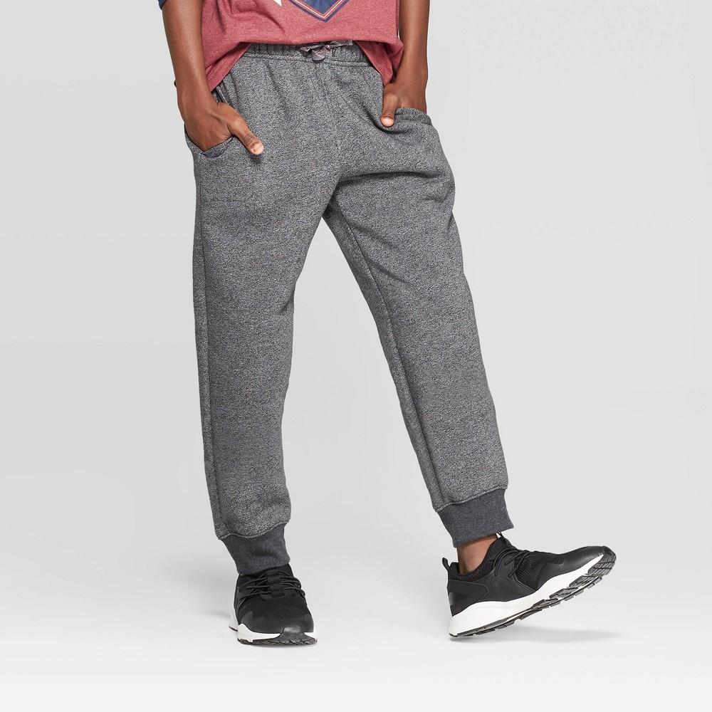 Image of Boys' Fleece Jogger Pants - Cat & Jack Gray L, Boy's, Size: Large