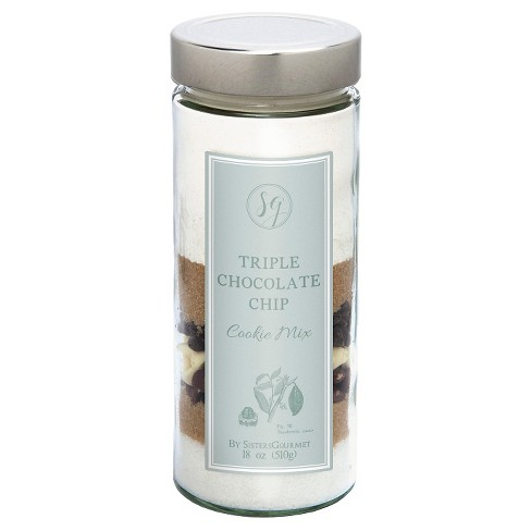 Sister's Gourmet Triple Chocolate Chip Cookie Mix - 18 oz - image 1 of 1