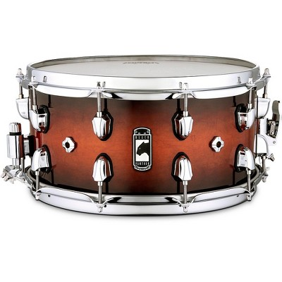 Mapex Black Panther Solidus Snare Drum 14 x 7 in. Red Black Burst