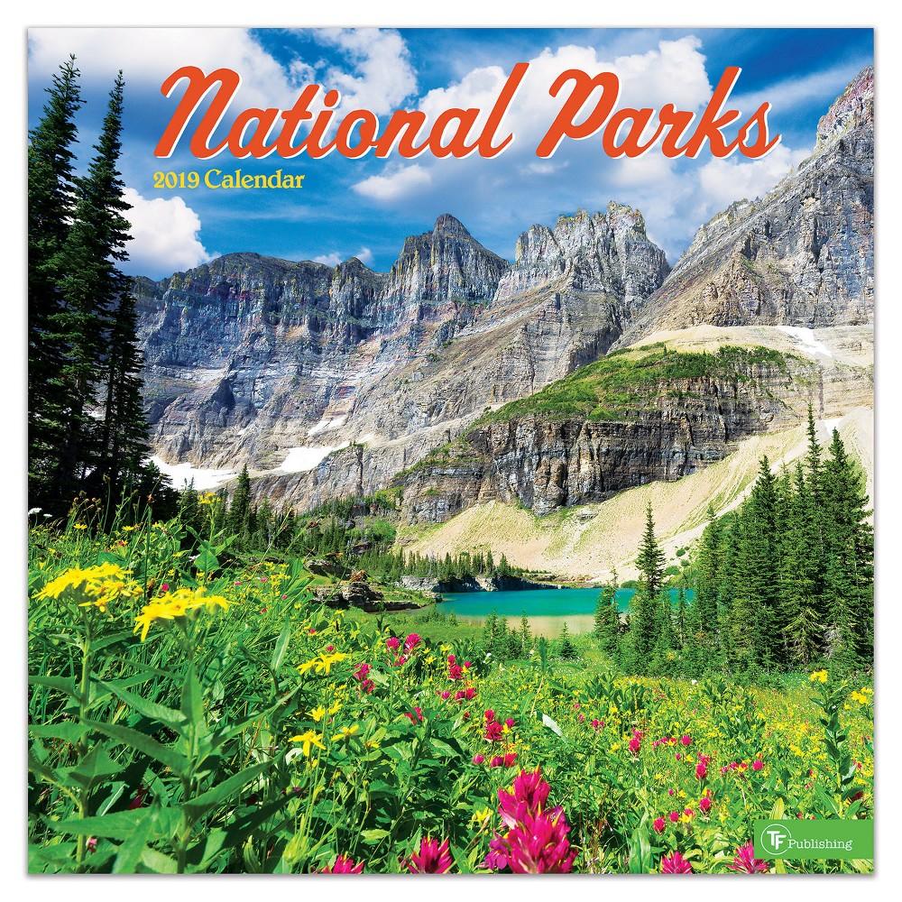 2019 Wall Calendar National Parks - TF Publishing, 2019 Tf Publishing National Parks Wall Calendar